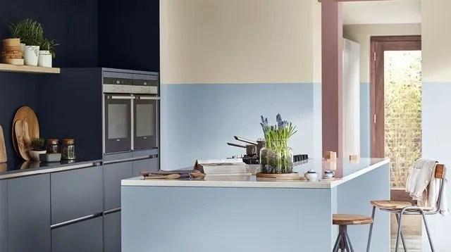 Peinture cuisine  bonnes couleurs, pièges à éviter - Côté Maison