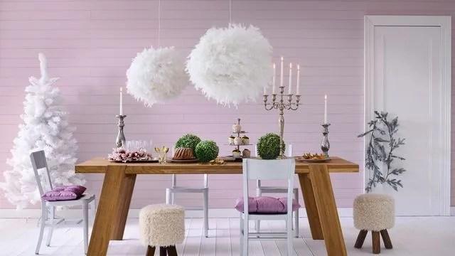 Déco Noël maison  une salle à manger sous une belle étoile - Côté