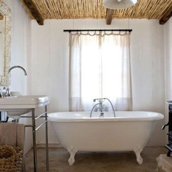 Salle de bains à la campagne  une déco pour se sentir bien - Côté