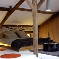 dcoration chambre avec poutres