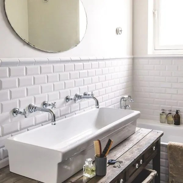 Salle de bains blanc  20 photos déco très inspirantes - Côté Maison