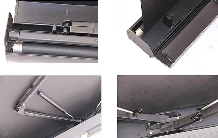 Portable Screen Floor Standing Projector Screen