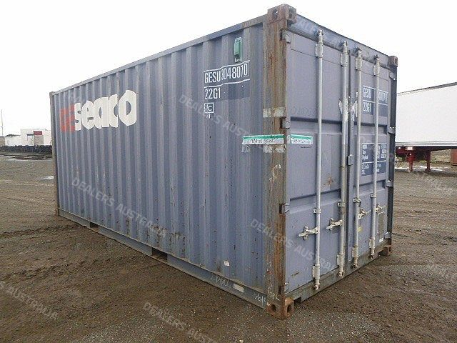Unknown Shipping Container Standard Steel Qld For Sale
