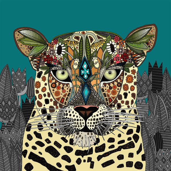 How To Get A Live Wallpaper On Iphone X Leopard Queen By Sharon Turner Decalgirl
