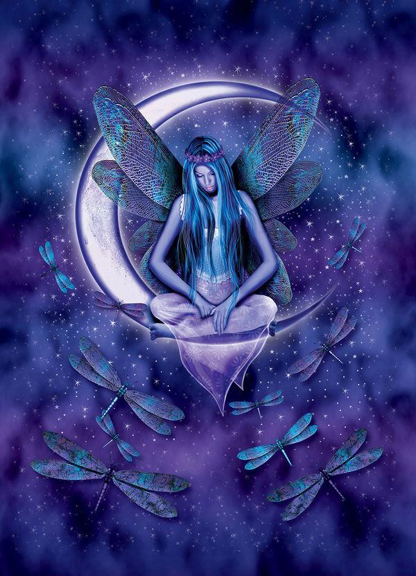 Free Wallpaper Of Girl In Rain Moon Fairy By Michael Mcgloin Decalgirl