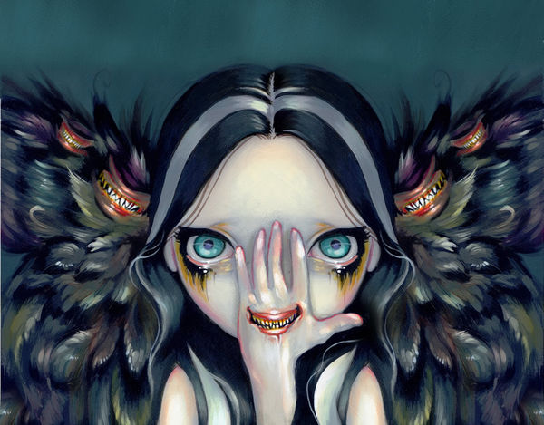 Sugar Skull Girl Wallpaper Speak No Evil By Jasmine Becket Griffith Decalgirl