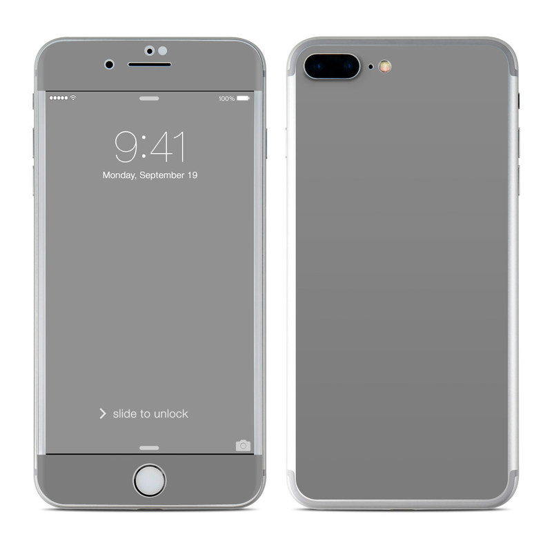 Marble Wallpaper Iphone 7 Plus Apple Iphone 7 Plus Skin Solid State Grey By Solid