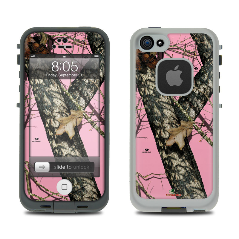 Pink Camo Wallpaper For Iphone 5 Lifeproof Iphone 5 Case Skin Break Up Pink By Mossy Oak