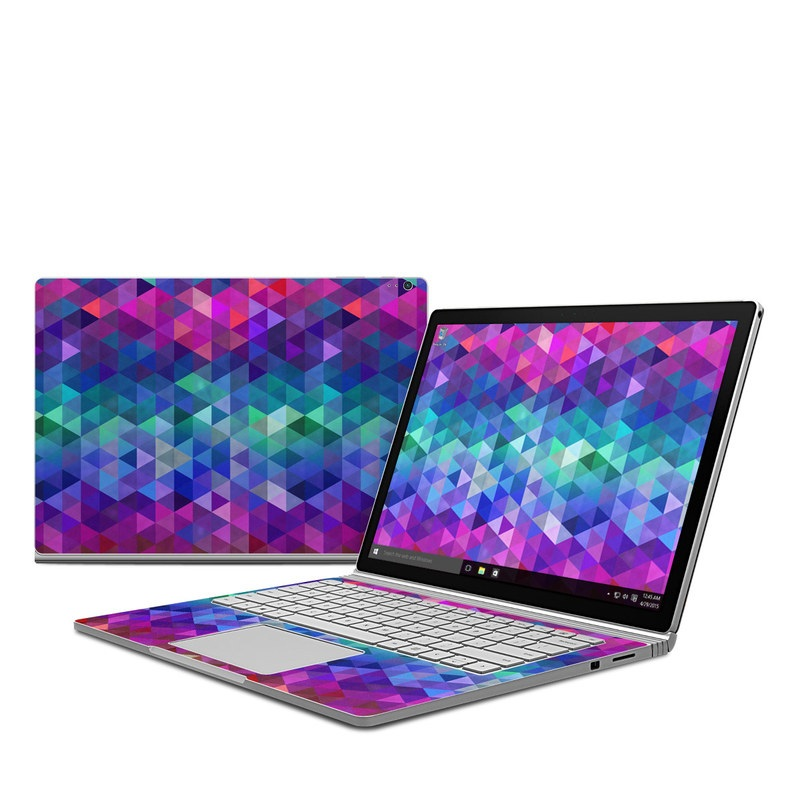 Unique Girl Wallpaper Microsoft Surface Book Skin Charmed By Fp Decalgirl