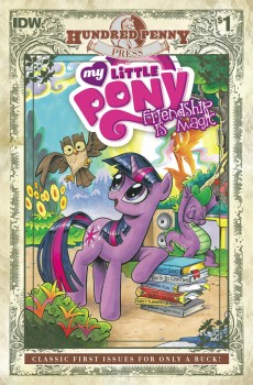 My Little Pony Friendship Is Magic #1 Hundred Penny Press Edition cover by Andy Price