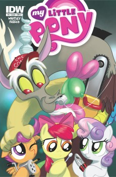 My Little Pony Friends Forever #2 Cover A by Amy Mebberson