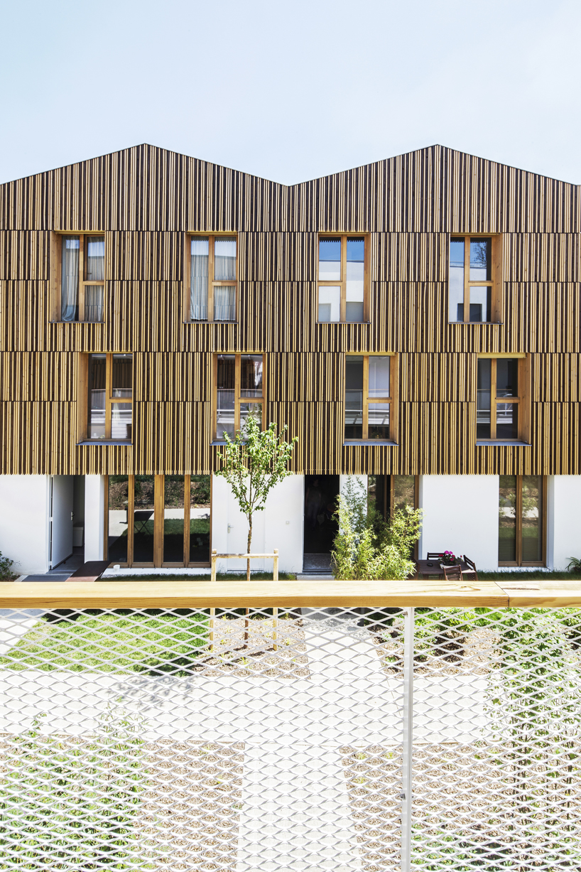 Architecte Paris 10 Nzi Architectes Designs Housing Project With Collective Spaces And