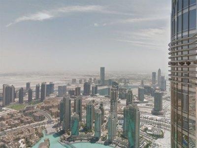 google maps reaches new heights with views inside burj khalifa