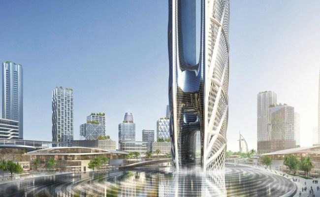 Ruler Of Dubai S Fingerprint Will Form Base Of The Uae S Second Tallest Tower