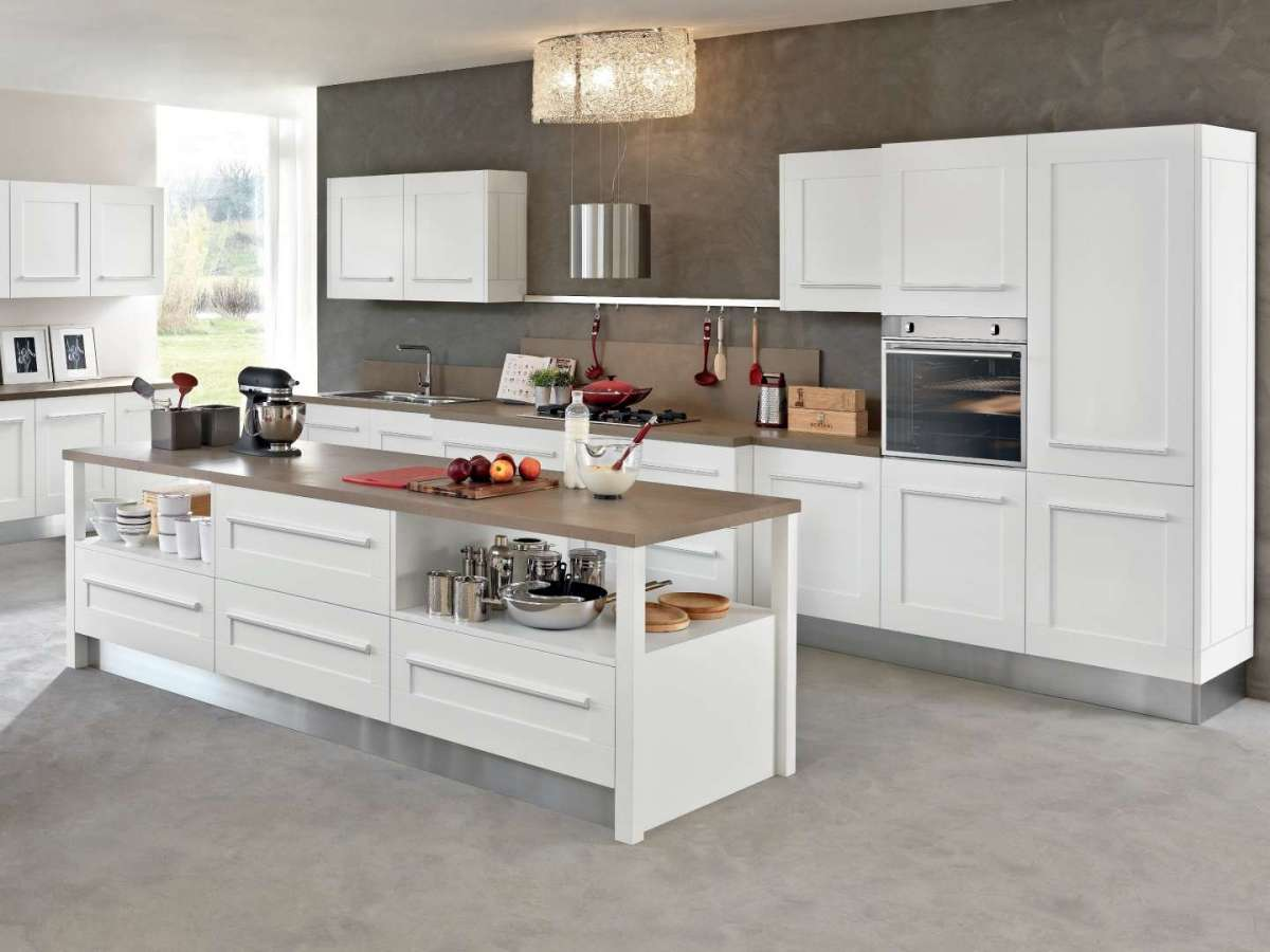 Emejing cucina ad isola dwg pictures - Isola in cucina ...