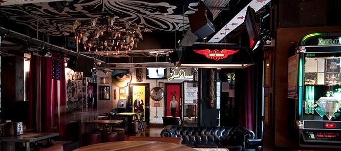 Night Is Short Walk On Girl Wallpaper Roadtrip Bar Review Shoredtich Dj Bar London Designmynight