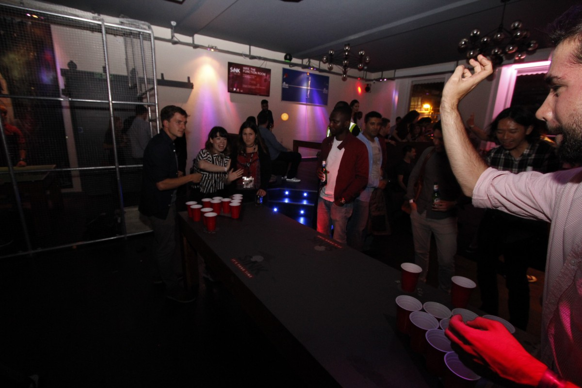 23 Design Birmingham The Shoreditch Beer Pong Party East London London Fun