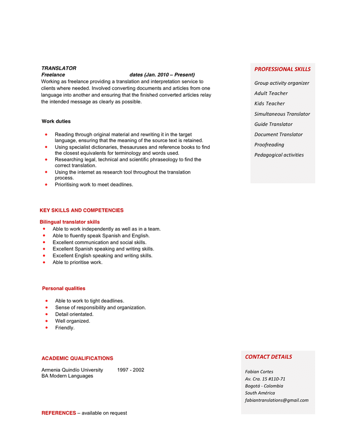 resume for physics teacher resume ideas