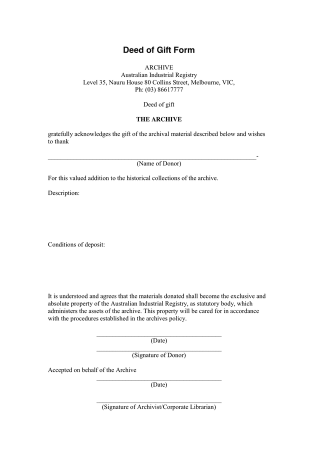 Contract For Deed Wisconsin Form – Sample Contract for Deed