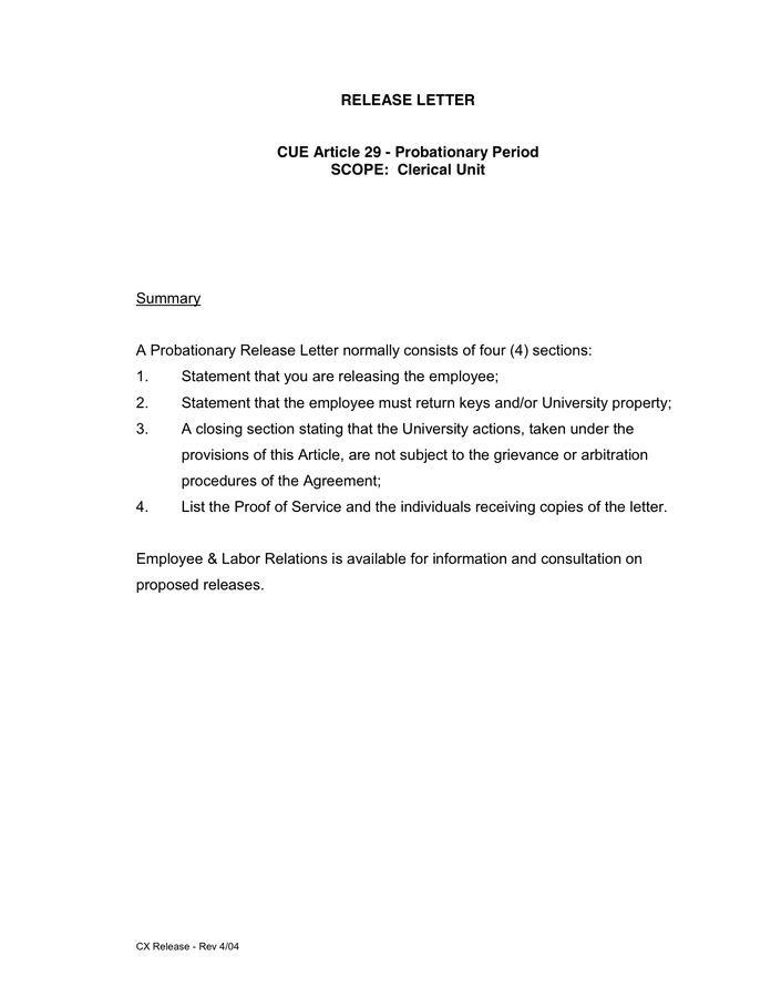 Sample Contract Termination Letter Pdf Professional resumes
