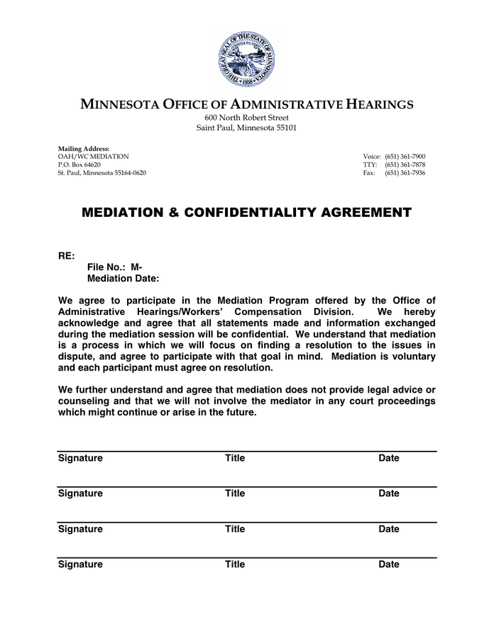 Doc585650 Confidentiality Agreement Template Confidentiality – Confidentiality Agreement Template