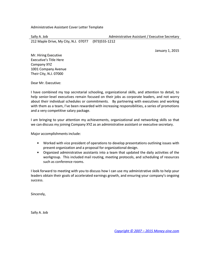 Finance Intern Resume Samples Jobhero Administrative Assistant Cover Letter Examples Download