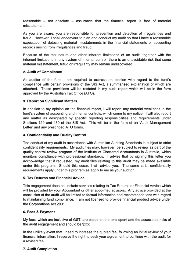 bookkeeping proposal letter