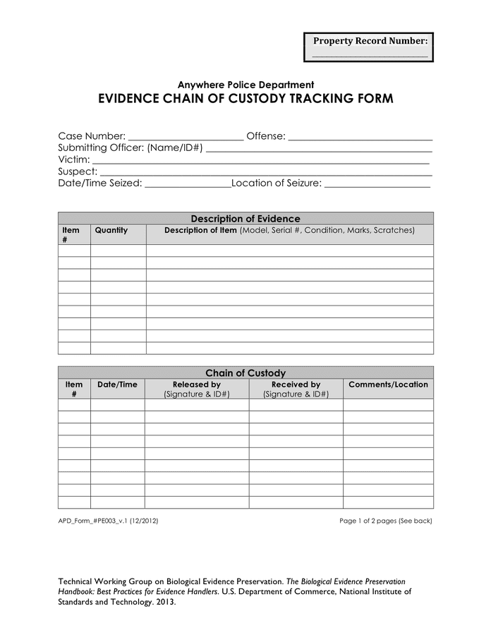 custody agreement form