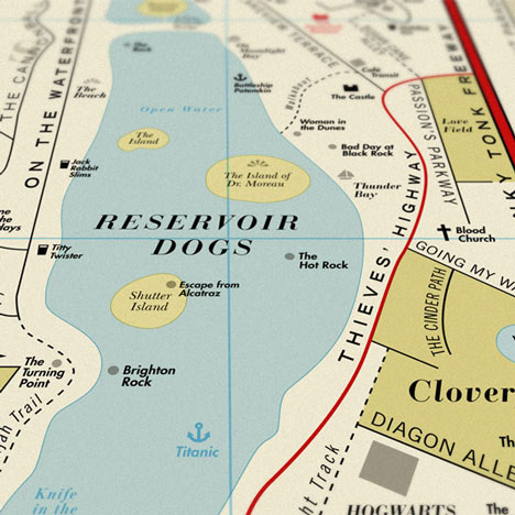 Five prints of Film Map by Dorothy to be won