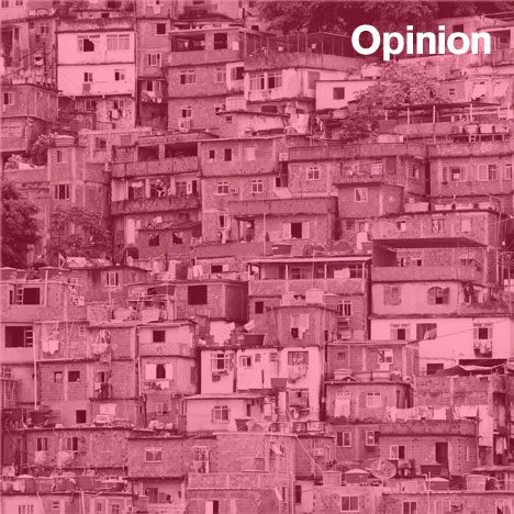 Justin McGuirk opinion Le Corbusier Dom-ino slum city