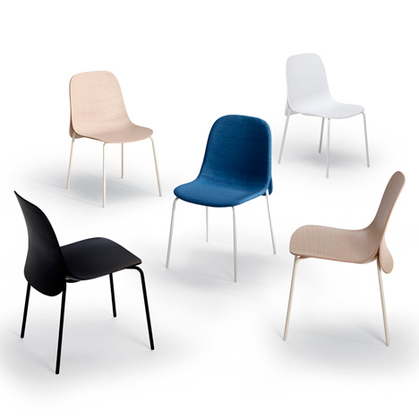 Cape chair by Nendo for Offecct