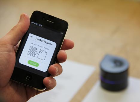 Mini Mobile printer by Zuta Labs