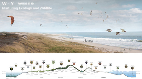 Blue Dunes – The Future of Coastal Protection by WXY and West 8