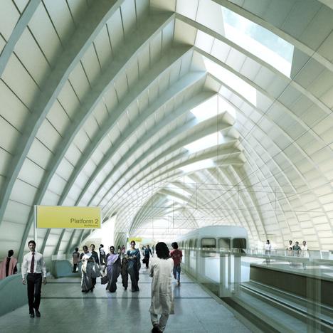 John McAslan + Partners wins bid to design Dhaka metro line