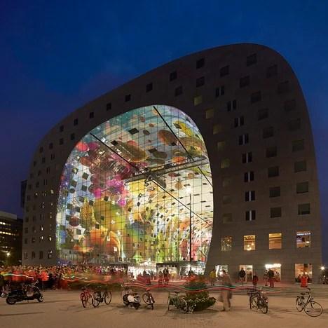 MVRDV Markthal Rotterdam Hufton+ Crow