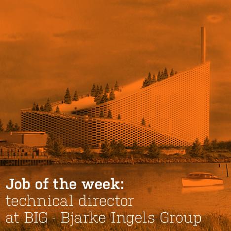Job of the week technical director at BIG