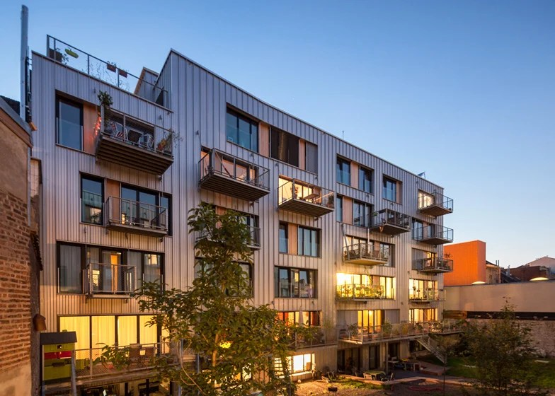 Brutopia is an apartment complex built by a cooperative