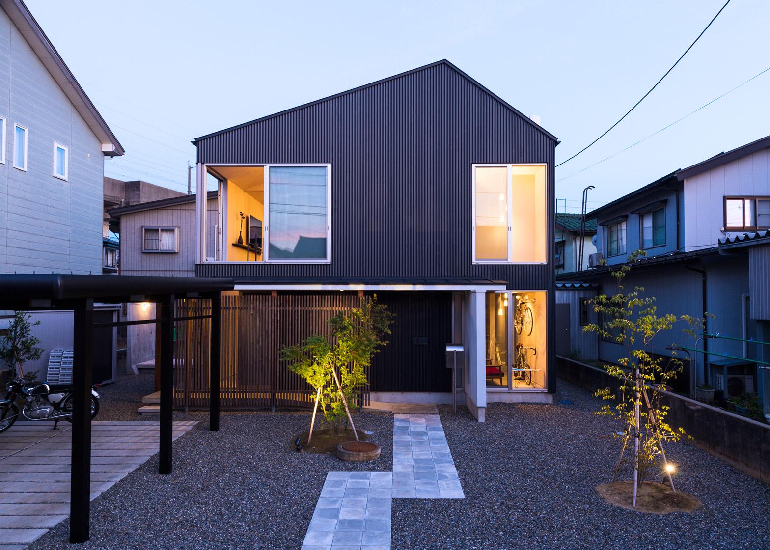 Fullsize Of Modern Japanese House