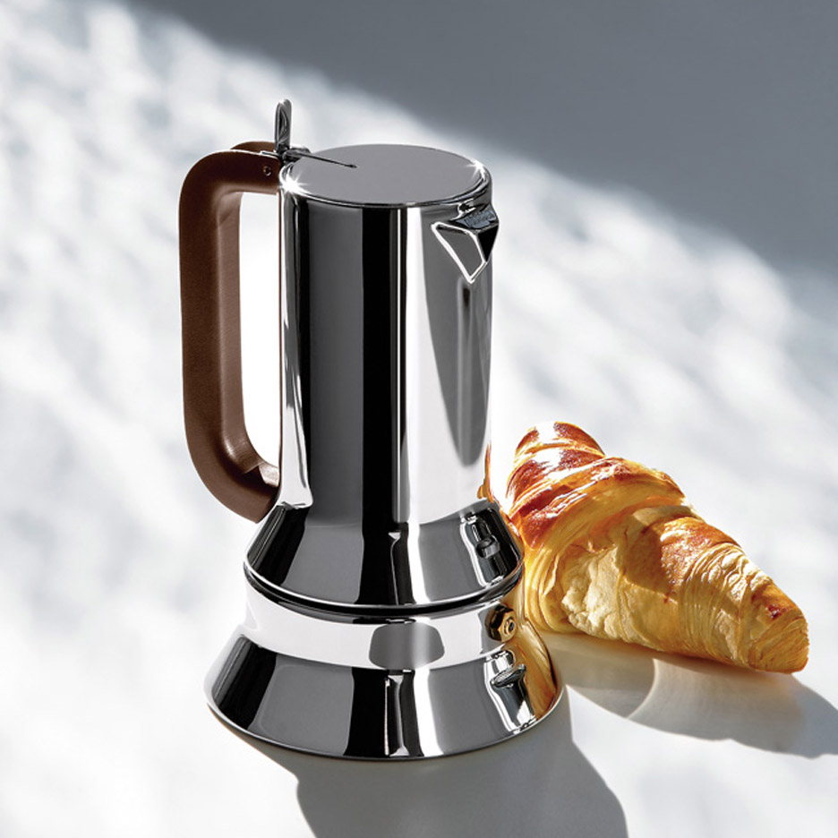 Alessi Espressokocher Remembering Richard Sapper 9090 Espresso Maker Movie