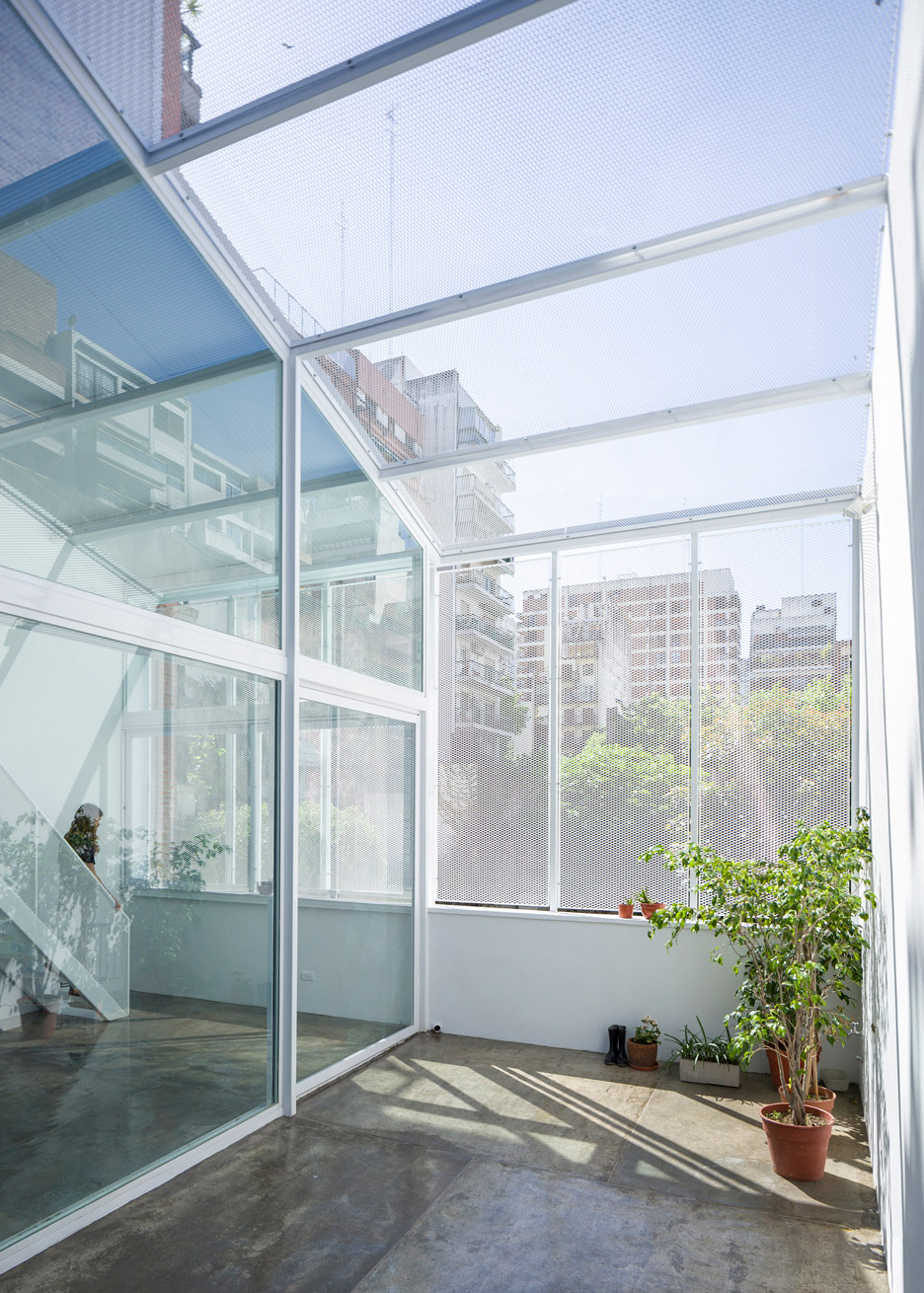 Glass Roof Extension Rooftop Extension Proposes A