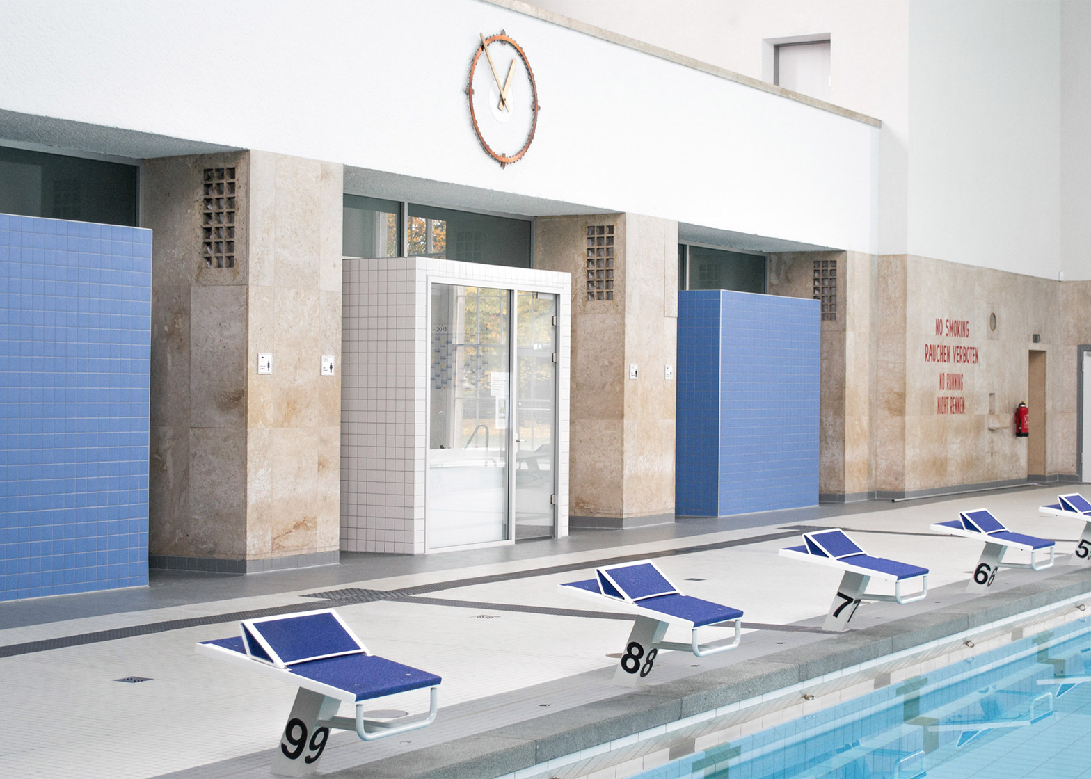 Swimming Pools In Berlin Veauthier Meyer Architects Renovates Nazi Era Swimming Pool