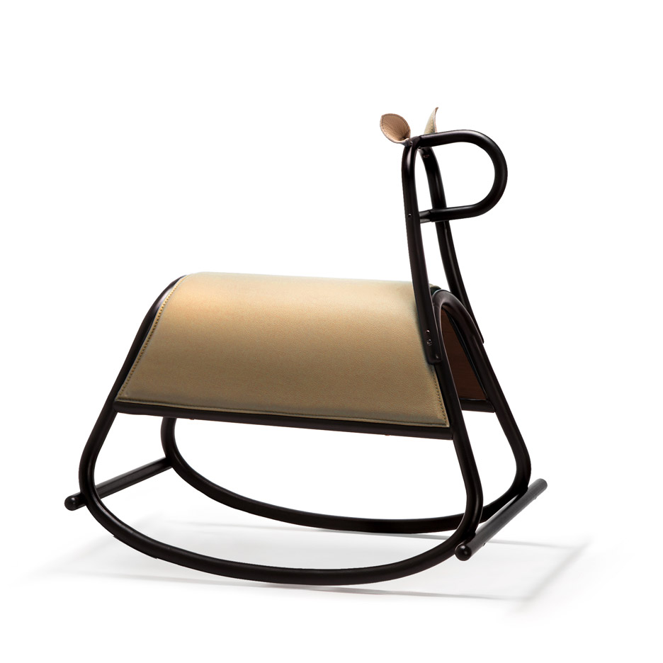 Thonet Jobs Front Designs Bent Wood Rocking Horse For Thonet Gtv
