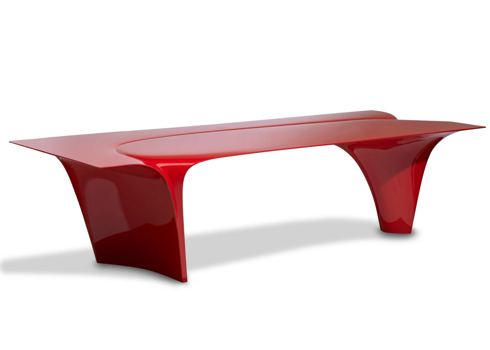Couchtisch Asia Zaha Hadid S Mew Table Is Her Last Piece Of Furniture Design For