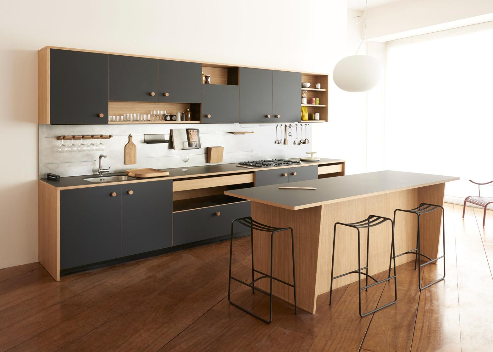 lepic kitchen design jasper morrison versatile schiffini wood laminate dezeen 1568 9