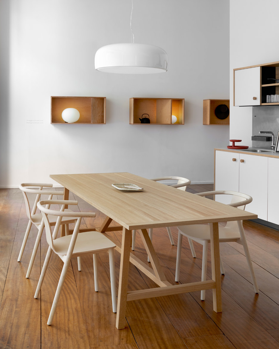 Schiffini Kuche Jasper Morrison Reveals First Kitchen Design For Schiffini