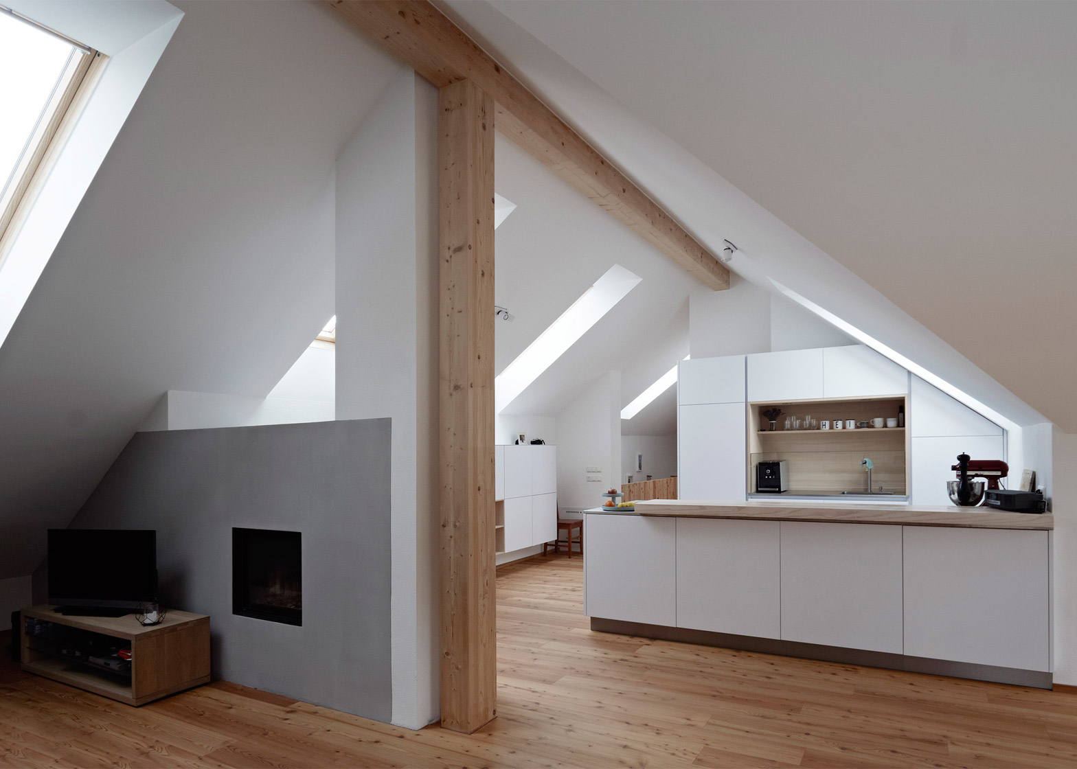 Bad Design Modern Traditional Farmhouse In Austria Updated With Contemporary Extension