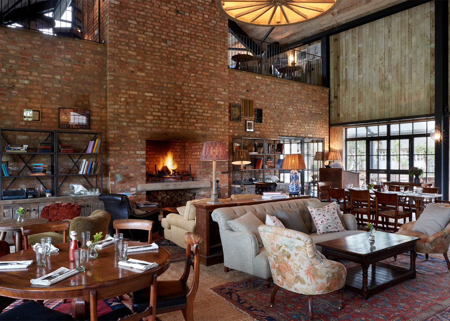 Farmhouse Coffee Shop Soho House And Michaelis Boyd Turn Farm Into Luxury Members Hotel