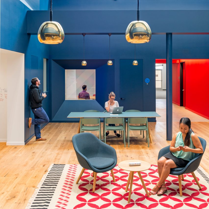 10 of the most creative office interiors from Dezeen\u0027s Pinterest boards