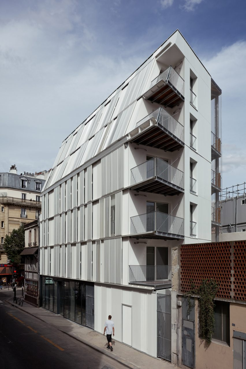 Architecte Paris 10 Sliding Shutters Cover Dietmar Feichtinger Architectes Parisian