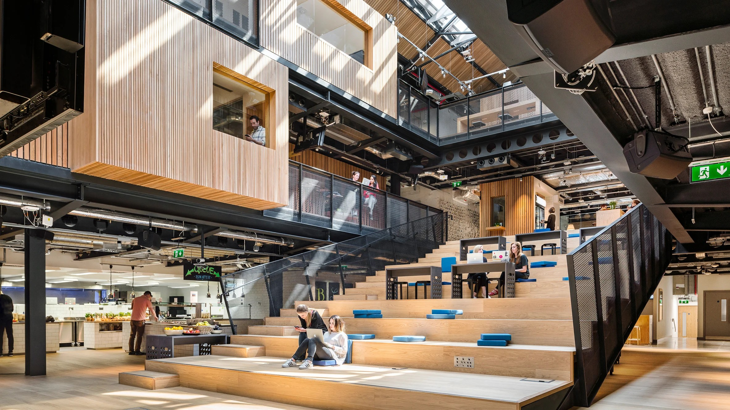 Airbnb Paris 17 Airbnb Unveils New Headquarters In A Disused Dublin Warehouse